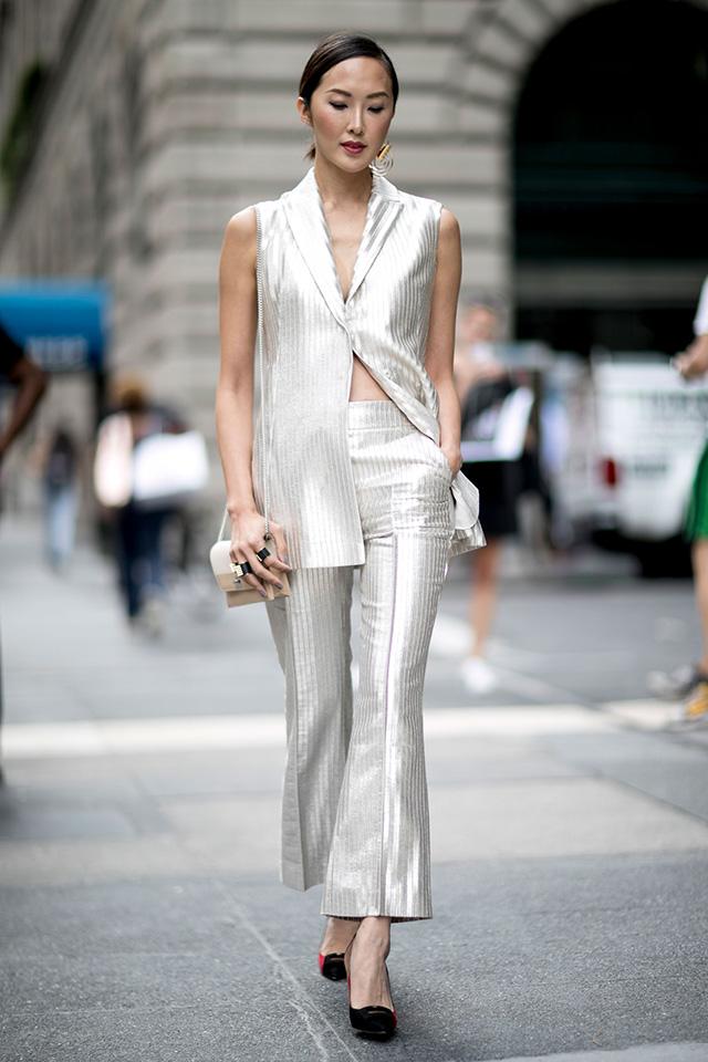 Что носят на Неделе моды в Нью-Йорке: 2 часть (фото 22)