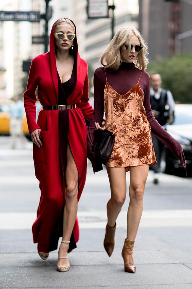 Что носят на Неделе моды в Нью-Йорке: 2 часть (фото 23)