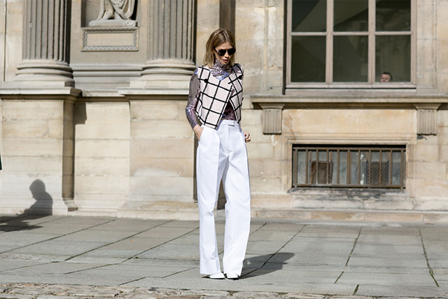 Paris Fashion Week A / I 2015: street style.  Part 3 (16 foto)
