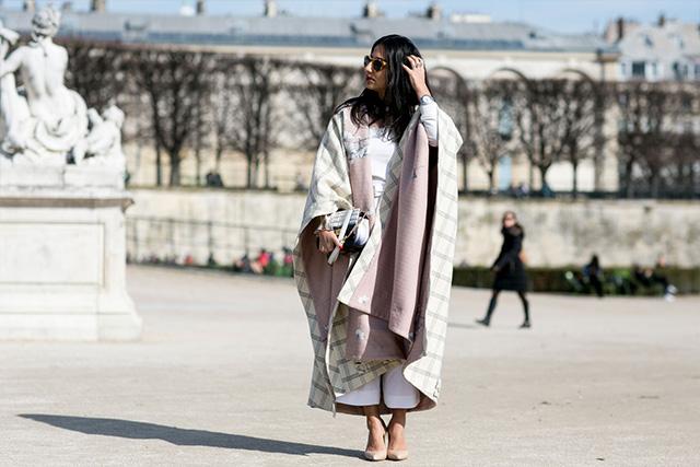 Paris Fashion Week A / I 2015: street style.  Part 3 (14 foto)