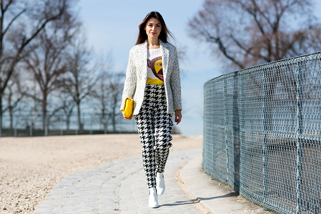 Paris Fashion Week A / I 2015: street style.  Part 3 (11 foto)
