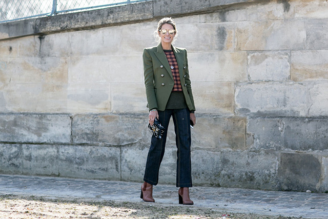 Paris Fashion Week A / I 2015: street style.  Parte 3 (6 foto)