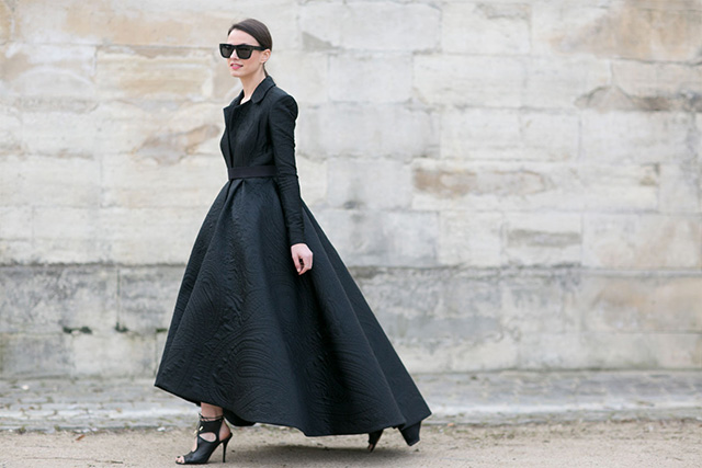 Paris Fashion Week A / I 2015: street style.  Part 3 (26 foto)