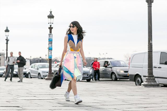 Paris Fashion Week A / I 2015: street style.  Part 3 (25 foto)