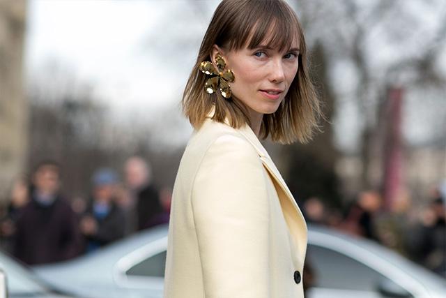 Paris Fashion Week A / I 2015: street style.  Parte 3 (foto 1)