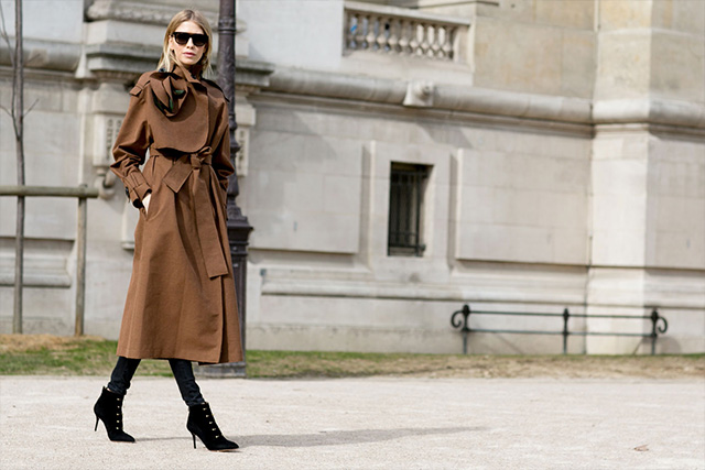 Paris Fashion Week A / I 2015: street style.  Parte 3 (3 foto)