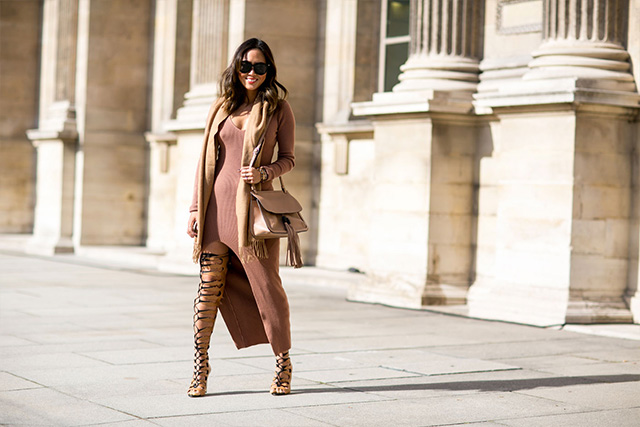 Paris Fashion Week A / I 2015: street style.  Part 3 (20 foto)