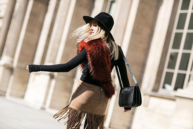 Paris Fashion Week A / I 2015: street style.  Part 3 (19 foto)