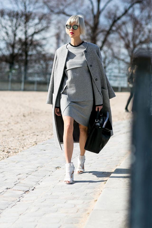 Paris Fashion Week A / I 2015: street style.  Part 3 (12 foto)