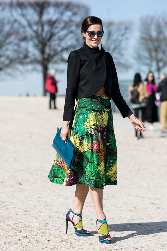 Paris Fashion Week A / I 2015: street style.  Part 3 (10 foto)