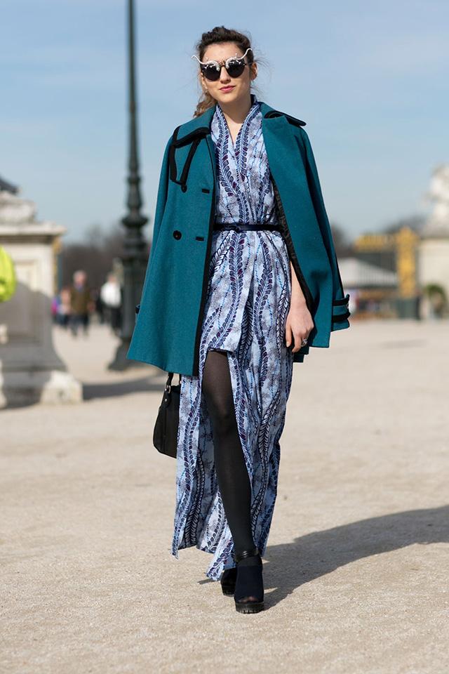 Paris Fashion Week A / I 2015: street style.  Parte 3 (7 foto)