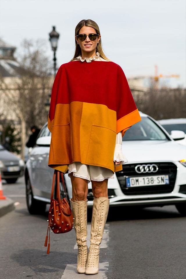 Paris Fashion Week A / I 2015: street style.  Part 3 (24 foto)