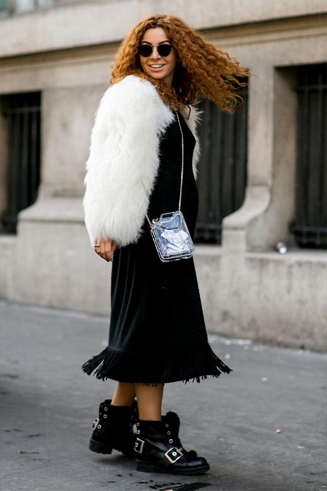 Paris Fashion Week A / I 2015: street style.  Part 3 (23 foto)
