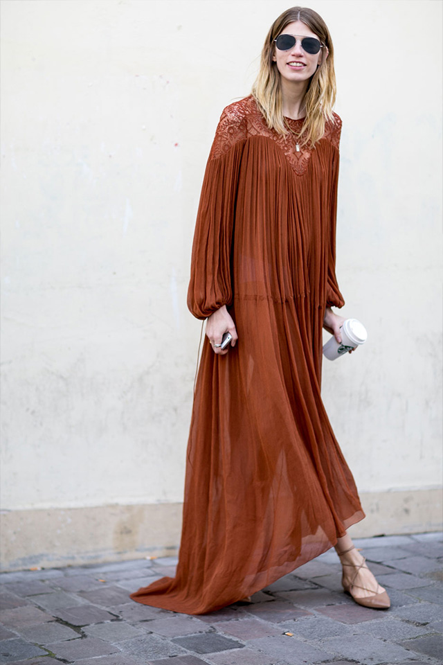 Paris Fashion Week A / I 2015: street style.  Parte 3 (foto 4)