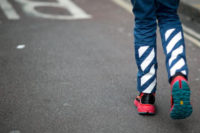 Мужская неделя моды в Лондоне F/W 2015: street style