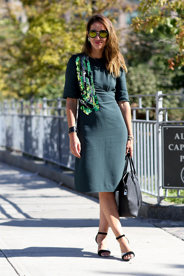 Fashion Week di New York / S 2015 S: street style.  Parte VII (14 foto)