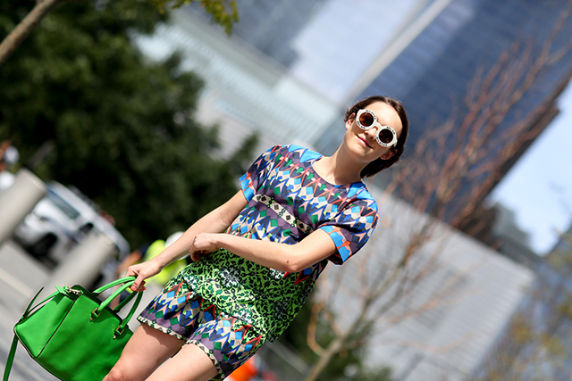 Fashion Week di New York / S 2015 S: street style.  Parte VII (11 foto)
