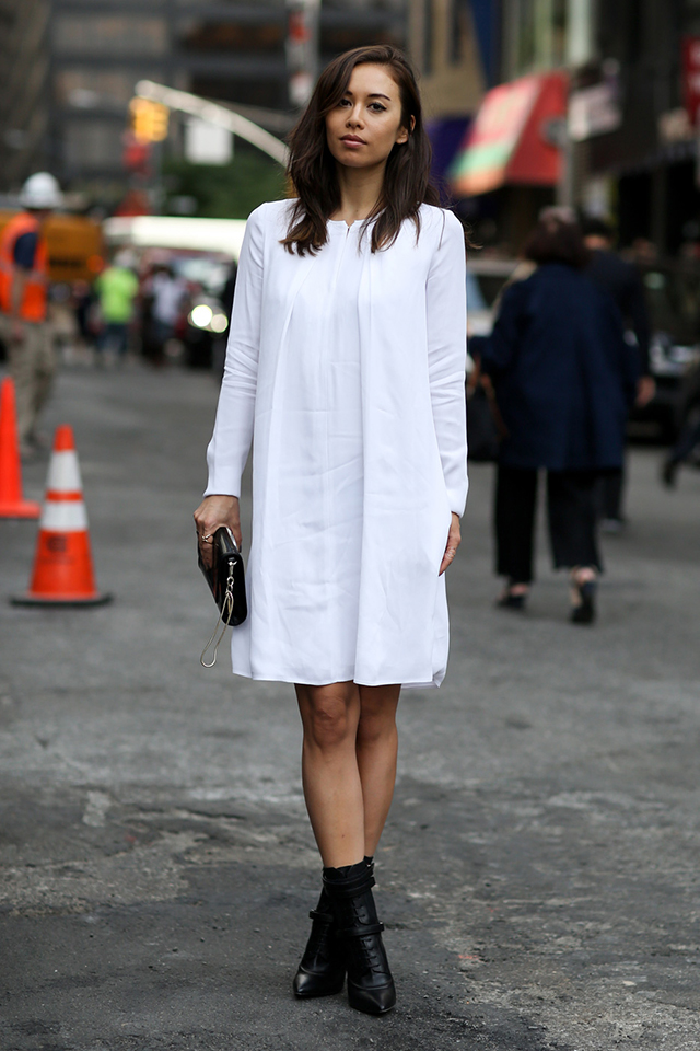 Fashion Week di New York / S 2015 S: street style.  Parte VII (10 foto)