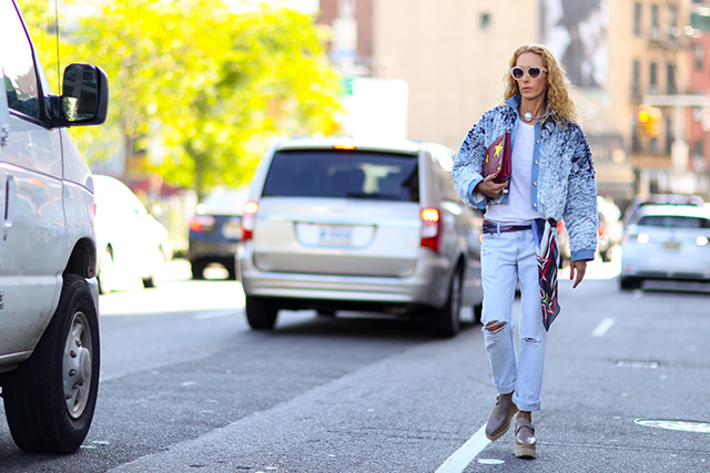 Fashion Week di New York / S 2015 S: street style.  Parte VII (15 foto)