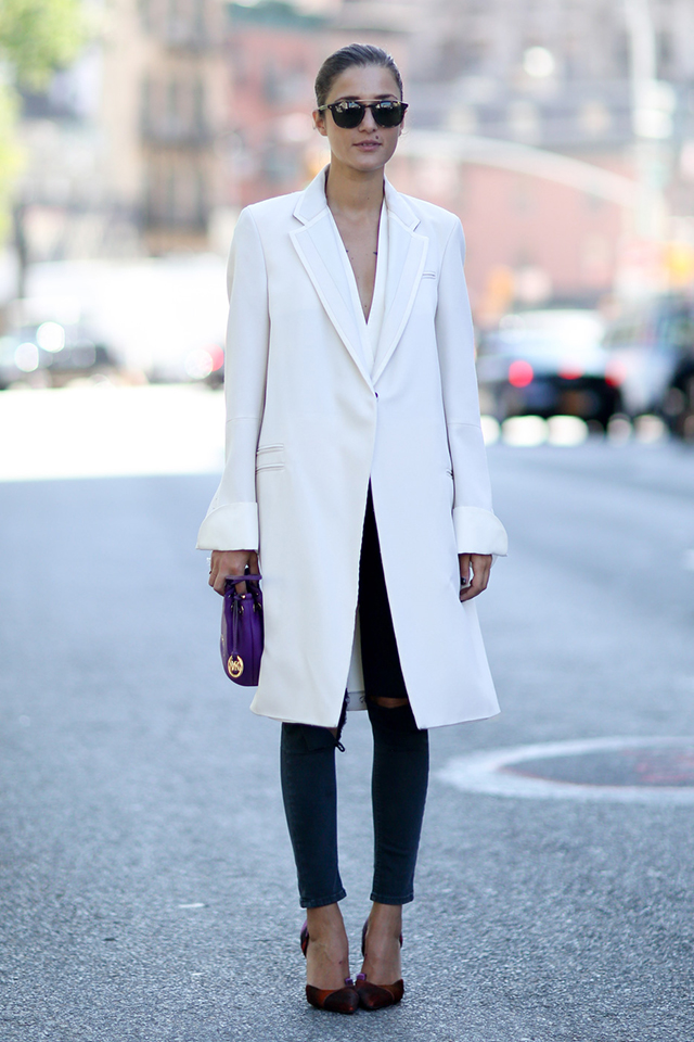 Fashion Week di New York / S 2015 S: street style.  Parte VII (foto 3)