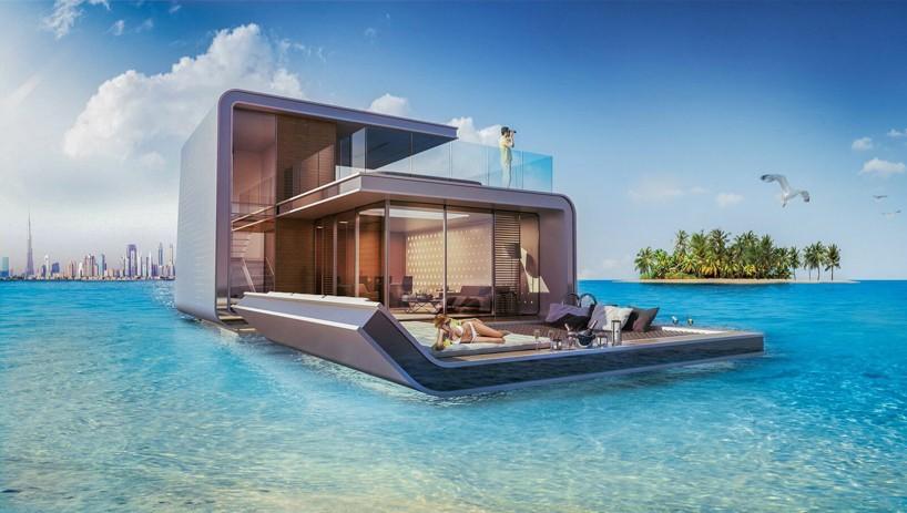 В Дубае представили проект плавающей виллы (фото 1)