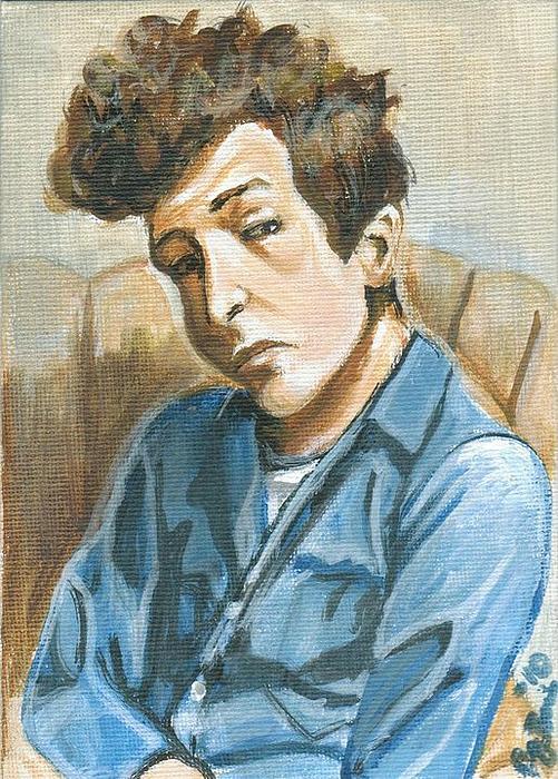 В Лондоне открылась выставка картин Боба Дилана (фото 7)
