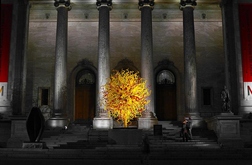 Стеклянный сад в Монреальском музее изящных искусств (фото 5)