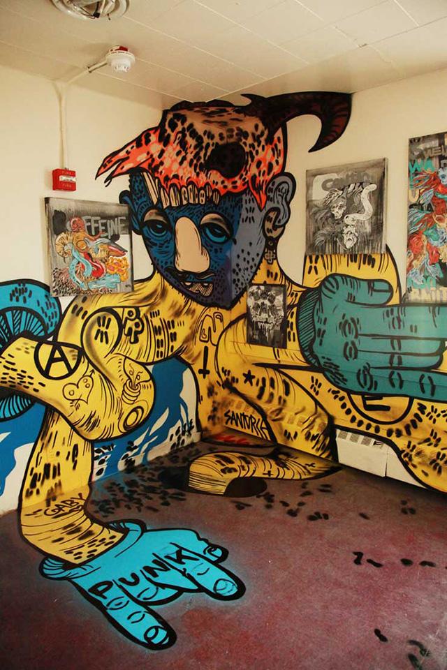 Исчезающая выставка граффити и уличного искусства в Нью-Йорке (фото 1)