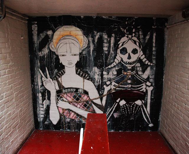 Исчезающая выставка граффити и уличного искусства в Нью-Йорке (фото 2)