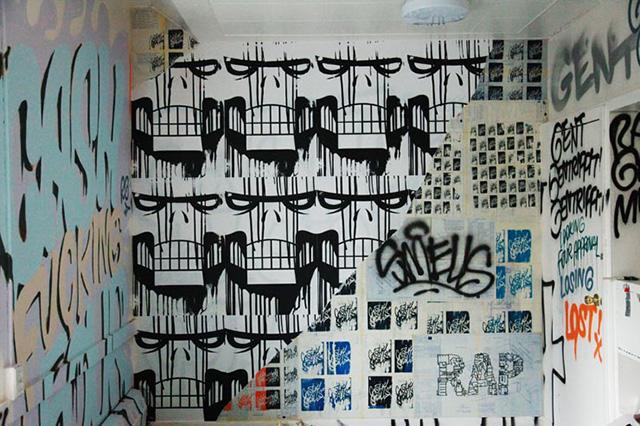 Исчезающая выставка граффити и уличного искусства в Нью-Йорке (фото 3)