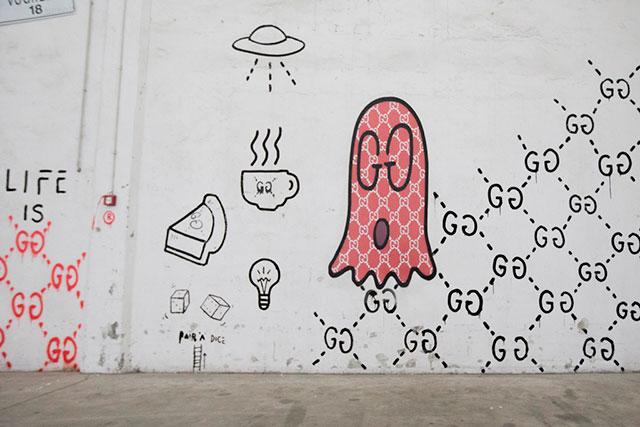 Очень дружелюбные привидения: коллаборация Алессандро Микеле и GucciGhost (фото 3)