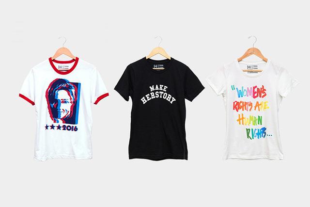 Марк Джейкобс и другие дизайнеры сделали футболки для Хиллари Клинтон (фото 1)