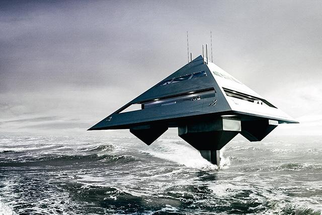 Проект яхты-пирамиды от лондонского архитектора (фото 2)