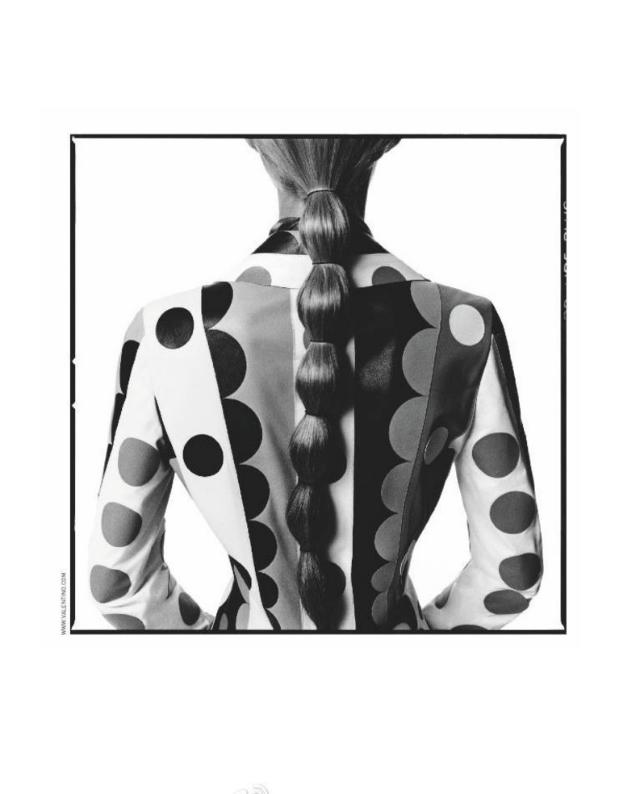 рекламная кампания Valentino, осень-зима 2014