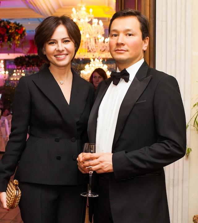 Оксана Лаврентьева и Антон Пак