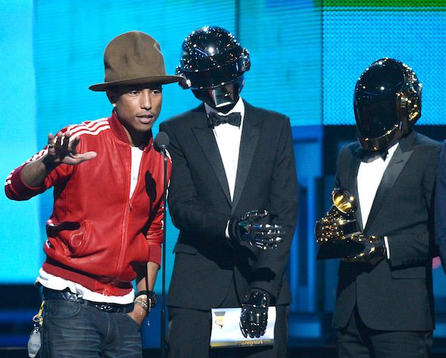 Фаррелл Уильямс и Daft Punk