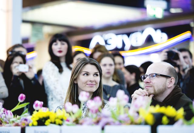 Даша Самкович и Николай Палажченко