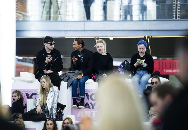 SNC Day: мода и искусство с Ксенией Собчак (фото 4)