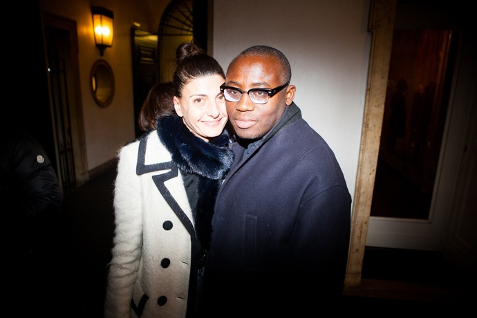 Эксклюзив Buro 24/7: гости показа Versace (фото 11)