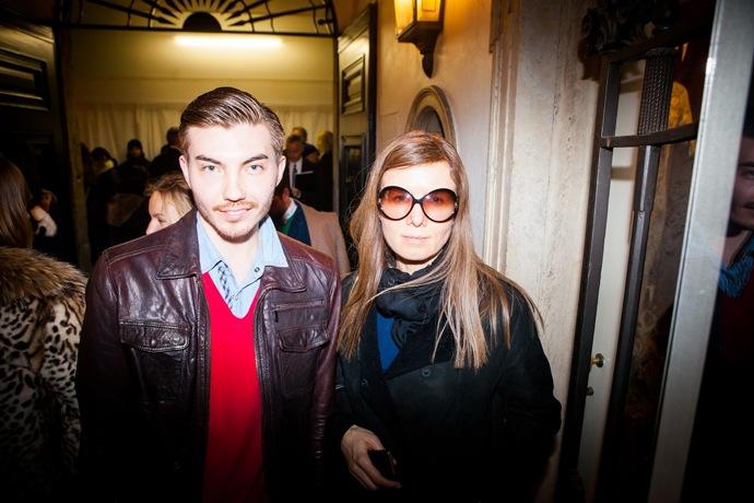 Эксклюзив Buro 24/7: гости показа Versace (фото 8)