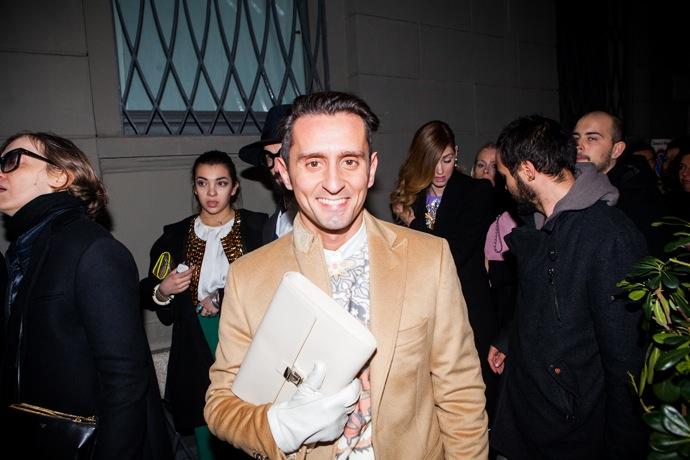 Эксклюзив Buro 24/7: гости показа Versace (фото 9)