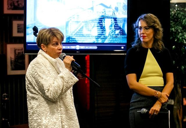 Доктор Лиза и Ксения Собчак