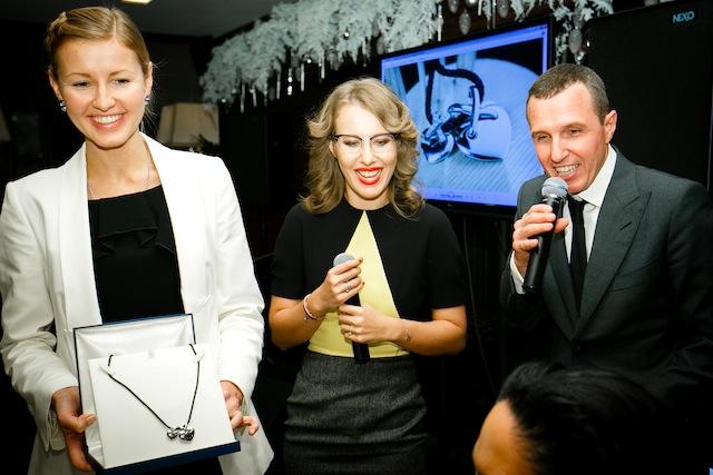 Ксения Собчак и Игорь Верник