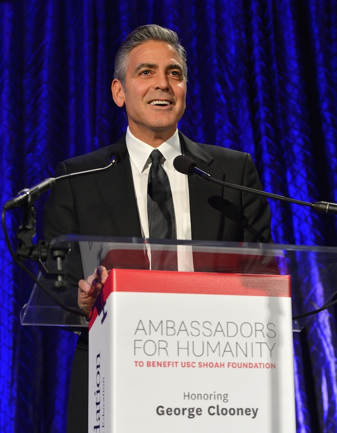 Джордж Клуни удостоен награды Ambassador for Humanity Award