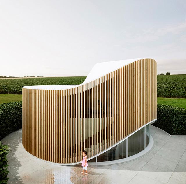 Дом как дерево: арт-резиденция от архитекторов Penda (фото 1)