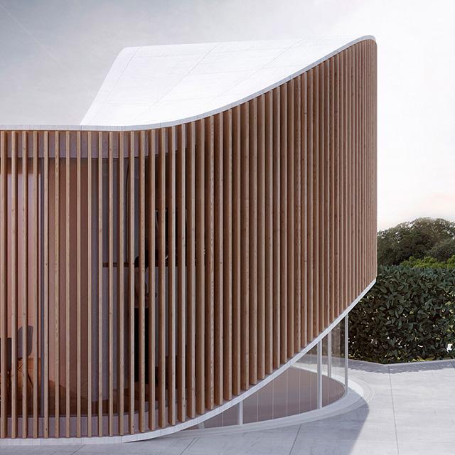 Дом как дерево: арт-резиденция от архитекторов Penda (фото 2)