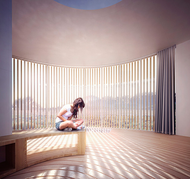 Дом как дерево: арт-резиденция от архитекторов Penda (фото 3)