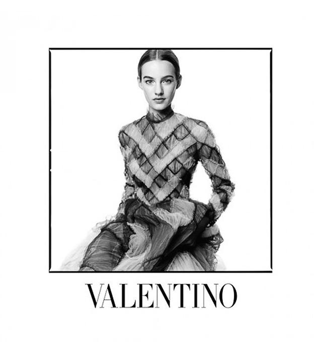 Полная версия рекламной кампании Valentino, осень-зима 2014 (фото 5)