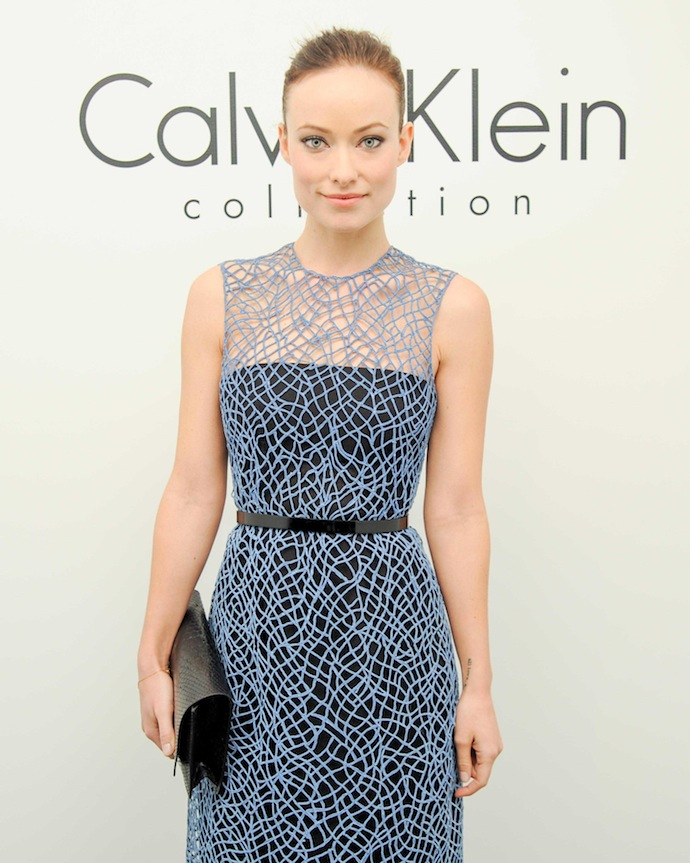 Гости показа Calvin Klein Collection в Нью-Йорке (фото 4)