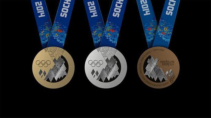 Представлены олимпийские медали Сочи-2014, Buro 24/7